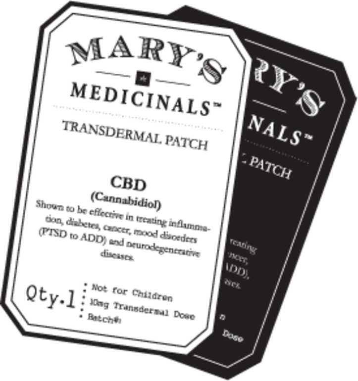 Mary's Medicinals - Cbd Elite Patch