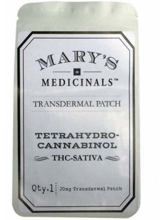 Mary's Medicinals - Thc Transdermal Sativa Patch