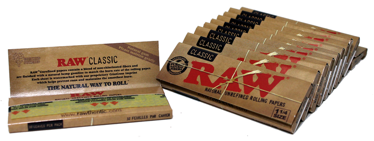Raw Hemp Papers