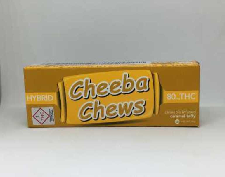 Cheeba Chews Hybrid 80mg Pack