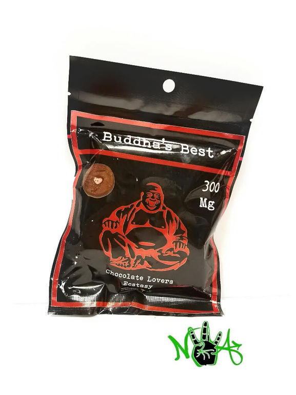 Buddhas Best: Chocolate Lover's Ecstasy Cookie 300mg