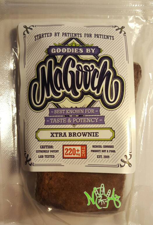 Magooch: Xtra Brownie 180mg