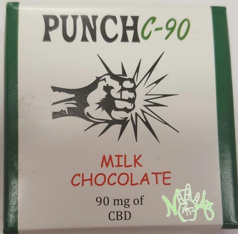 Punch Bar: C-90 Milk Chocolate (cbd)