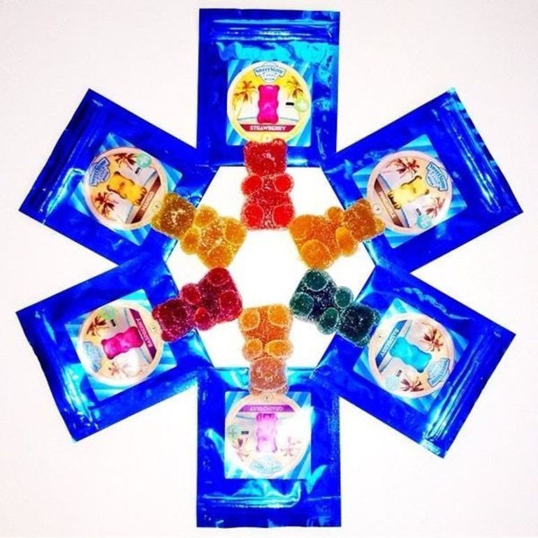 Sweetstone Gummies: Blue Raspberry 100mg