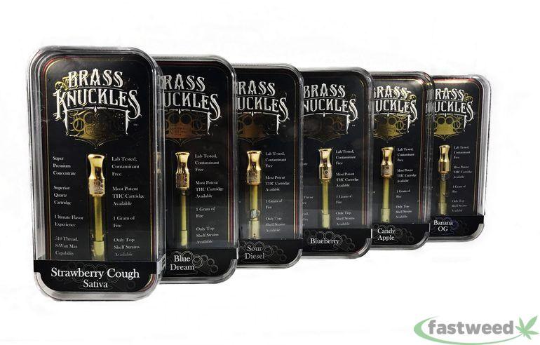 Brass Knuckles $45 Full Gram (cartridge)