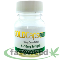 Gold Caps Cbd (10mg)