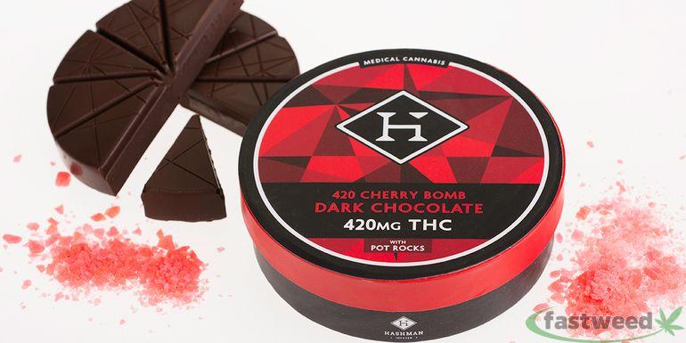 Hashman Cherry Bomb (420mg)