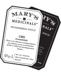 Transdermal Patches By Mary's Medicinals