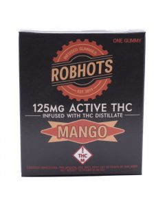 Mango 125mg Single Serve Gummie