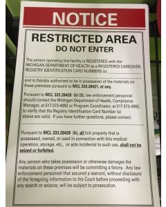 Restricted Poster