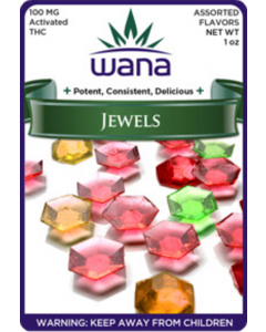 Wana Jewel 100mg