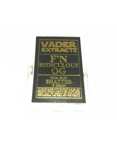 Vader Extracts: F'n Ridiculous Og