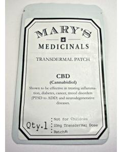 Cbd Transdermal Patch, 10mg - Med