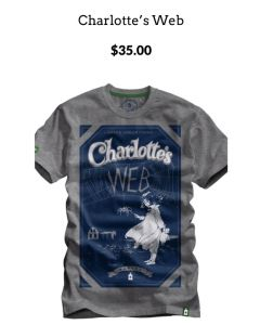 Charlettes Web Green Arbor Clothing Co T-shirt