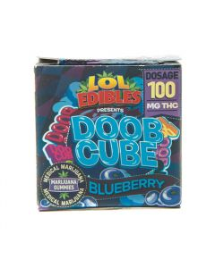 Blueberry Doob Cube - 100mg
