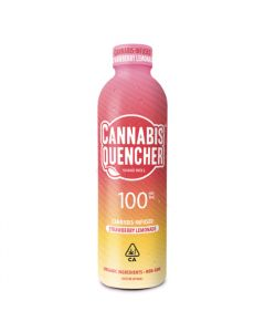 Strawberry Lemonade Cannabis Quencher - 100mg