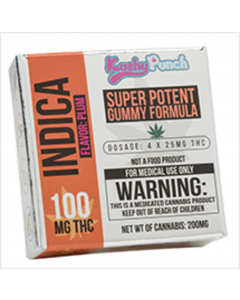 Kushy Punch: Indica 100mg