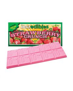 Strawberry Crunch Bar, 100mg