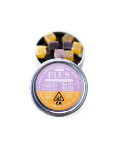 Plus Indica Gummies 100mg 9:1 Blackberry Lemon