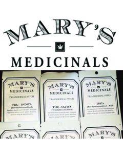 Marys Medicinals Transdermal Patches 1:1 Cbd