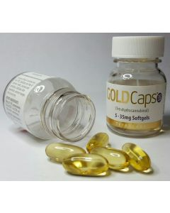 Goldcaps™ Thc Oral Softgel Capsules, 35mg