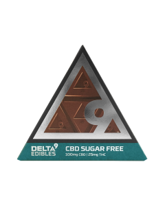 Cbd Sugar-free Bar 100mg Cbd/ 25mg Thc