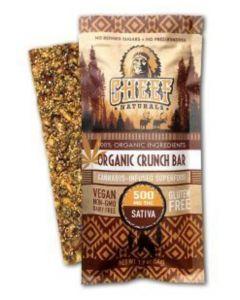 Organic Crunch Bar, Sativa 100mg