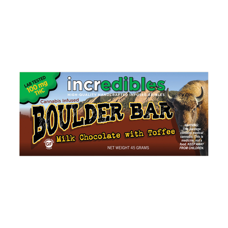 Boulder Bar, 100mg